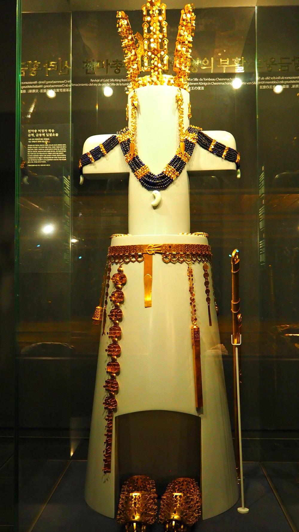 silla-kingdom-gold-crown-girdle