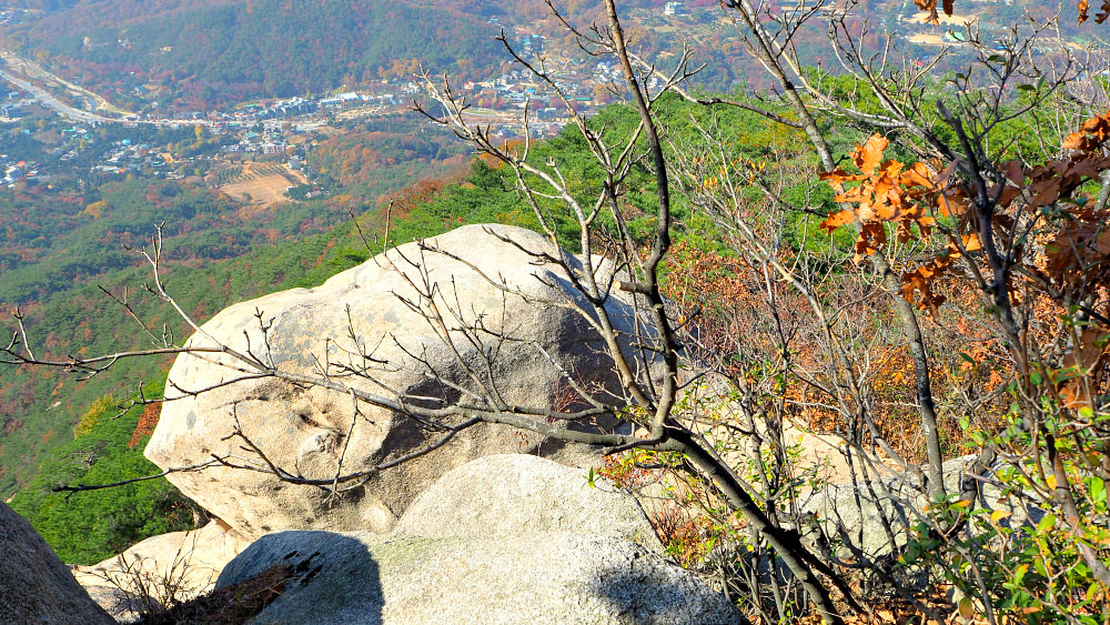 bukhansan-rock-formation
