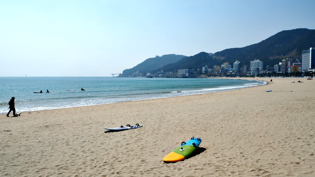 songjeong-beach-area