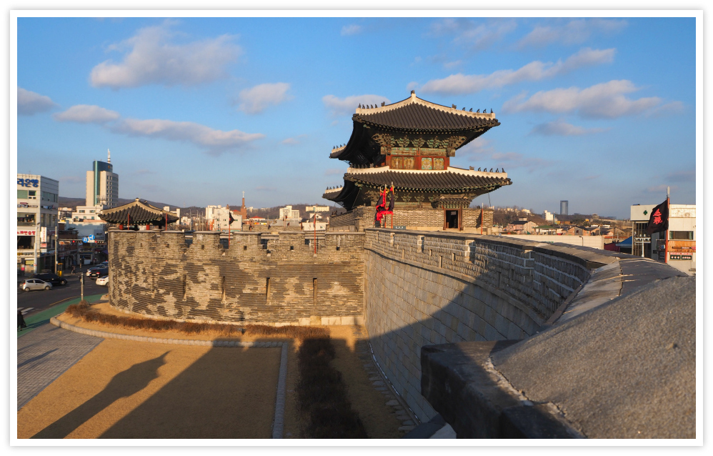 hwaseong-fortress-wall