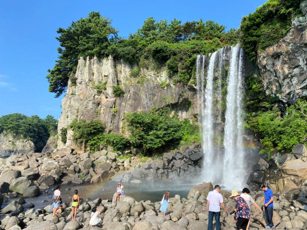jeongbangpokpo-falls