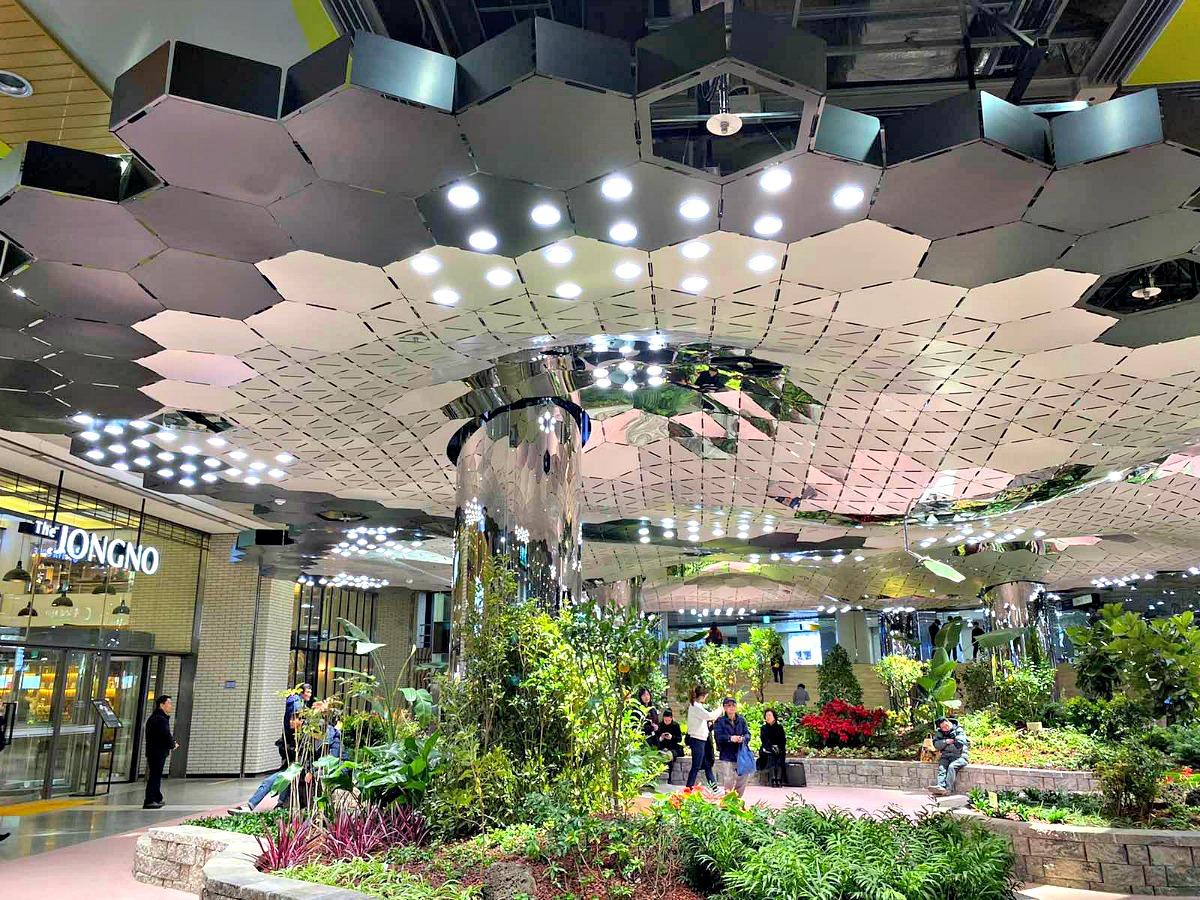 jonggak-station-solar-garden