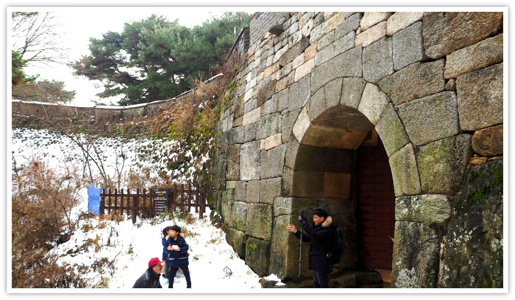 namhansanseong-north-gate