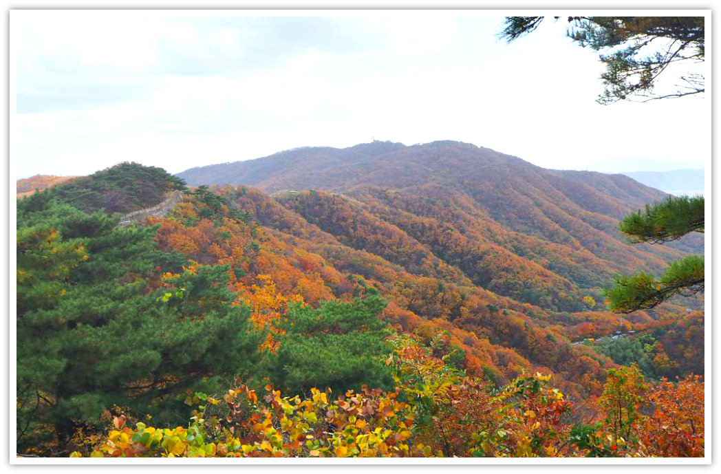 namhansanseong-mountains
