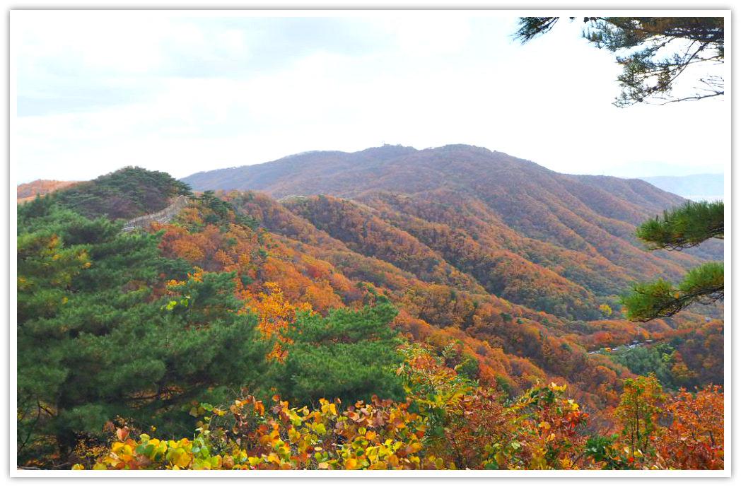 namhansanseong-mountains
