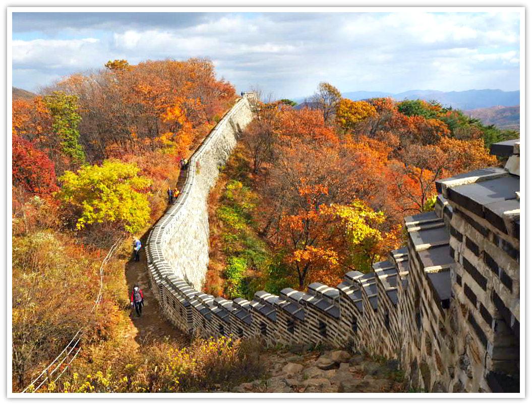 namhansanseong-wall