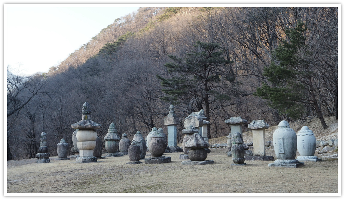 shinheungsa-memorial-stupa-group