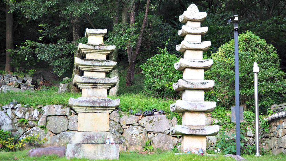jeungsimsa-two-pagodas