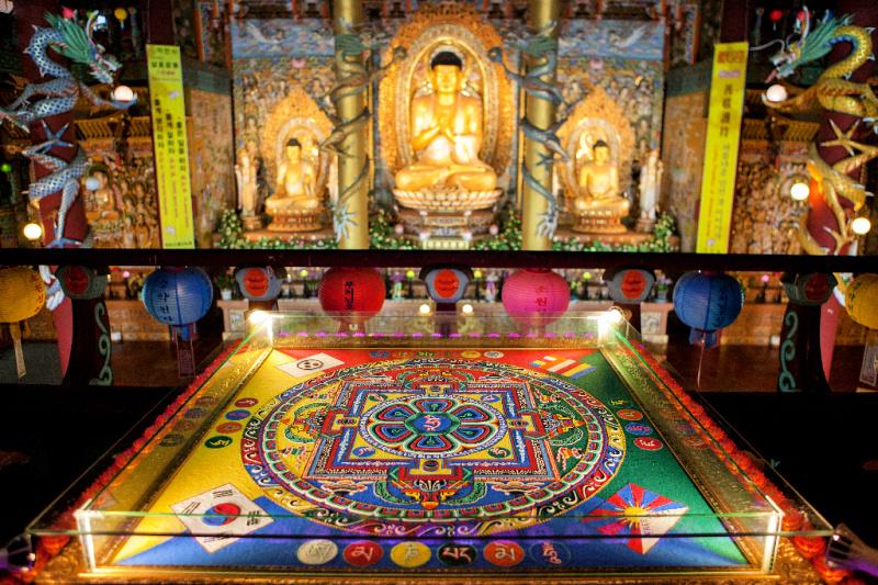 yakcheonsa-temple-mandala